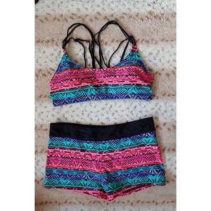 Other - NWOT 2in1 Swimsuit or Sportswear L
